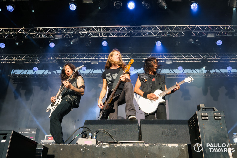 Death Angel no VOA Fest